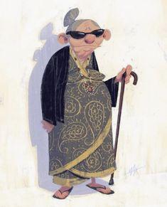 Old woman character design Character Design Animation, Character Design References, Character Art, Illustration Art Drawing, Character Illustration, Art Drawings, Drawing Cartoon Faces, Cartoon Design, Art Tutorials