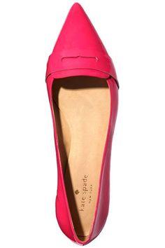 Shop The Trend: Kate Spade New York Flat - Harper's BAZAAR #ColorTheory