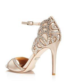 $Badgley Mischka Roxy Vintage High Heel Sandals - Bloomingdale's