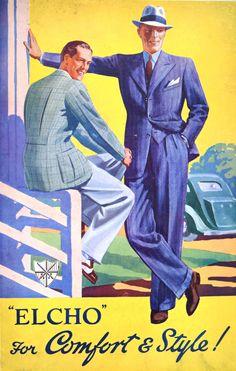 1930-talet är svårslaget. Pressed&Collared : Photo