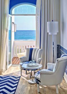 Bela Vista Hotel & Spa. Hotel and restaurant on the seafront. Portugal, Portimão. Unique in the world: In 1934, a 19th century family house overlooking the ocean became the first hotel in the Algarve. #relaischateaux #portugal