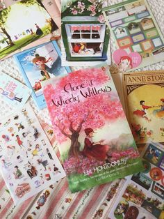 Julia's Bookbag: Anne of Green Gables Box Childrens Book Shelves, Have Good Day, Gable Boxes, Surprise Box, Best Children Books, Monthly Themes, Decorative Tape, Mothers Day Presents, Kids Lighting