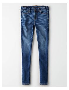 Shop at American Eagle for Jeggings that look as good as they feel. Browse our jeggings in different rises (from low to highest), in different washes and stretch levels. Ae Jeans, Slim Jeans, Skinny Jeans, Designer Jeans For Women, Super Stretch Jeans, Mens Outfitters, Eagle Outfitters, American Eagle Jeggings, Clothes For Women