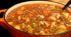 Hearty Homemade Vegetable Beef Soup