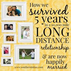 Find out how Kristy and Jesse survived five years in a long distance relationship 10,000 miles apart with their Tips for Surviving a Long Distance Relationship