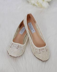 bb7795dd507 Love these gorgeous jeweled champagne flats by Antonio Melani ...