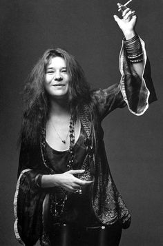 Janis Joplin, photo by Bob Seidemann