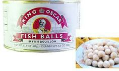 Fish Balls 30 Canned Foods You Never Knew Existed Food Network Humor, Food Humor, Food Network Recipes, Funny Food, Gross Food, Weird Food, Scary Food, Oscar Fish, Foods