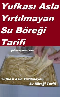 Su böreği yufkalı Turkish Recipes, Iftar, Food Humor, Beautiful Cakes, No Cook Meals, Nutella, Food And Drink, Veggies, Cooking Recipes