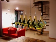 Lluvia Wine Rack by Edgar Navarro