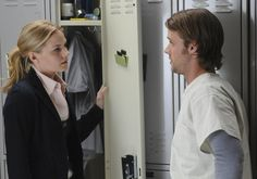Dr. Allison Cameron & Dr. Robert Chase of House M.D.