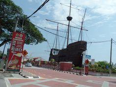 Maritime Museum in the shape of the Portuguese Ship (Flora de Lamar)