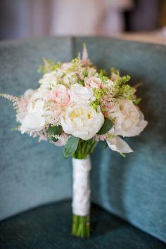 Elegant Wedding At Holkham Hall Norfolk With Bride In Hepburn By Suzanne Neville - Image by Katherine Ashdown