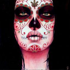..:: BoDy Art Br ===========: Sylvia Ji – caveiras mexicanas