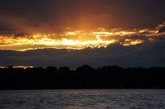 Sunset on Lake Sinissippi, WI