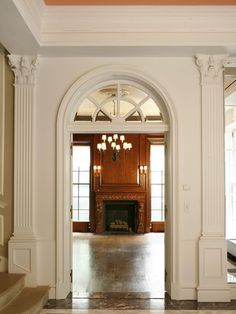 How to create a georgian colonial home interior georgian - Federal style interior paint colors ...