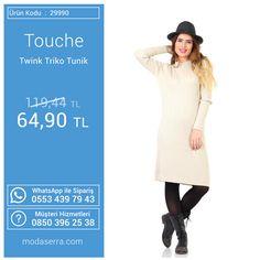 Bu haftanın ürünlerinden Touche Twink Triko Tunik : http://goo.gl/wsr4Ke