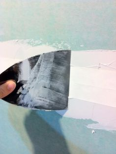 How to mud and tape dry wall
