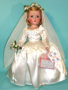 """Madame Alexander 18"""" Wendy Bride (or referred to as """"Lucy"""" Bride)."""