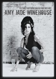 Be yourself, because an original is worth more than a copy #amywinehouse