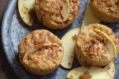 Æble/banan-muffins