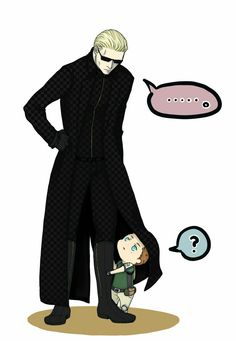 Cute Chris and Wesker