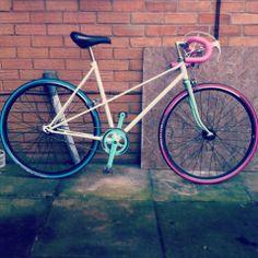 MY BICYCLE <3 custom fixed gear Mixte