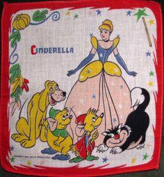 Sharon's Antiques Vintage Fabrics - Vintage Children's Hankies