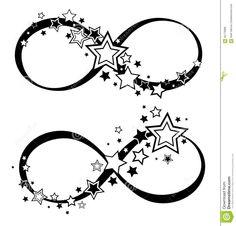tatuaggi stelle infinito - Cerca con Google