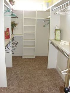Small Walk-In Closet Ideas | Small Walk In Closet Design Ideas, Pictures, Remodel, and Decor - page ... #home #decor