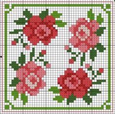 rozen vierkantje