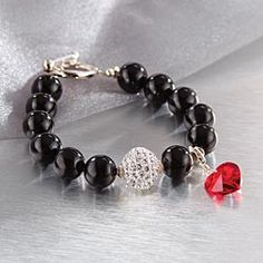 Heart Disease Awareness Bracelet... i want this bracelet in honor of my dad and his artificial  heart valve!!