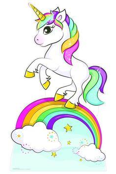 Unicorn Painting, Unicorn Drawing, Unicorn Art, Unicorn Images, Unicorn Pictures, Pictures Of Unicorns, Unicornios Wallpaper, Rainbow Wallpaper, Rainbow Drawing