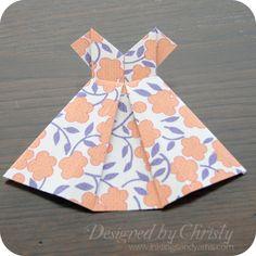origami dress 25