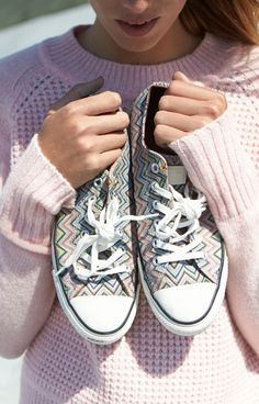 Converse x Missoni : la collection graphique de la rentrée | Glamour