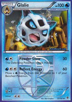 Glalie | Water Pokemon | Uncommon Pokemon | HP: 100 |