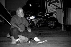Even Santa needs to party and relax. #street