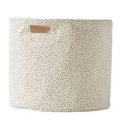 Grey Speck Drum - Large - Pehr Designs - US #pehrdreamtablescape @pehrdesigns
