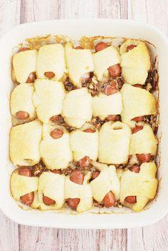 Honey Pecan Pigs in a Blanket