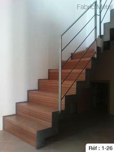 escalier quart tournant ch ne limon courbe d billard balustres en acier carr escaliers. Black Bedroom Furniture Sets. Home Design Ideas