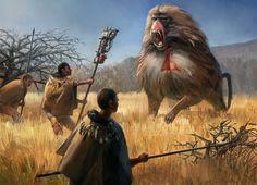 Man Vs Nature, Creature Design, Hunting, Creatures, Horses, Artwork, Action, Animals, Architecture
