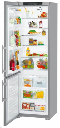 Liebherr CS1350BL 24 Inch Bottom Freezer Refrigerator With 13.0 Cu. Ft.  Capacity,