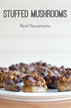 Stuffed Mushrooms | Real Housemoms