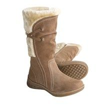 Henri Pierre by Bastien Elodie Boots - Suede (For Women) in Carob - Closeouts