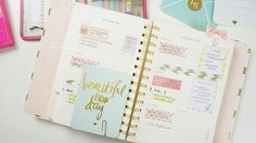 My Kate Spade Planner: How I organize and decorate