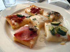 polenta 6 ways from Il Fornaio