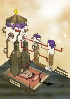 化 學 泡 泡 機