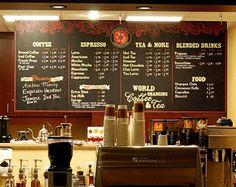 Coffee Shop Menu | Coffee Shop Menu Ideas