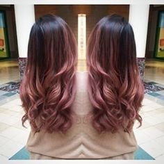 Hair color ideas for brunettes balayage rose gold dark brown 40 Ideas Hair color ideas for brunettes Cabelo Rose Gold, Pink Ombre Hair, Rose Gold Ombre, Rose Gold Hair Brunette, Brown Pink Ombre, Rose Gold Brown Hair, Dark Ombre, Pale Pink, Brown Hair Pink Ends