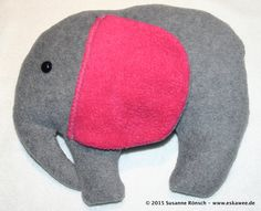 Elephant, Elefant, selbstgenäht und designed